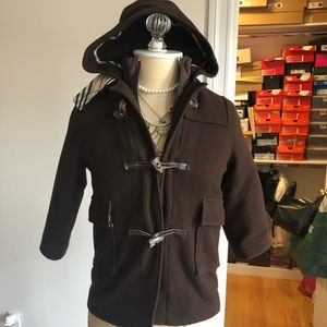Gently Used Boys Burberry Peacoat